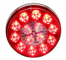 LED Signal Light Rear Lamp 4'' Round LED Stop/Turn/Tail/Back-up Light