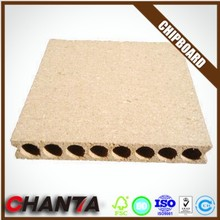 Experienced manufacturer high qualiy tubular particle boards hollow core chipboard price from ISO manufacturer