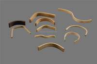 different kinds of bent plywood parts for chair