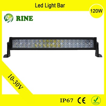 Auto Part ATV Accessories 120W Offroad LED Light Bar For JEEP SUV TRUCK