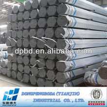 1 inch round pipe advanced construction materials Made in China Pre-galvanized Circle Hollow Section CHS