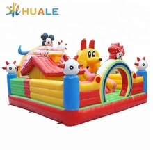 cheap commercial inflatable bouncer combo ,inflatable jumping castle, bouncing castle