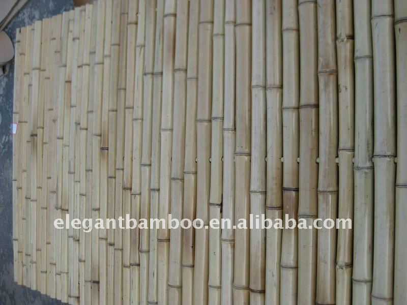 natural bamboo fence panel
