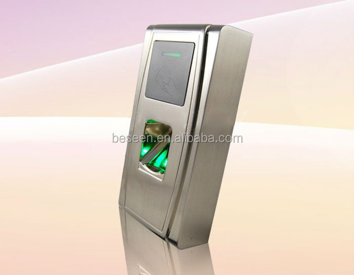 Outdoor Metal Waterproof Fingerprint&RFID Access Control System Device