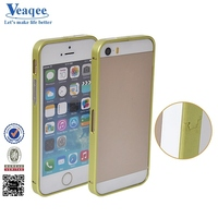 Veaqee bumper guard manufacturer maiker luxury bumper metal aluminum hard case cover for iphone 5s