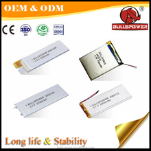 portable and rechargeable 3.7v 4000mah lipo laptop battery cell price