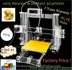 2015 lattest ! factory direct supply 3D printer made in china