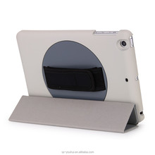 New arrival leather smart rotating flip case cover for iPad mini2 3
