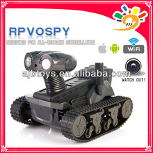 LT-728 New Arriving wifi control rc tank robot with camera i-SPY Tank (played with iPhone/iPad/ITouch/iPod/Android)