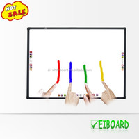 China supplier school equipment 4 points touch DVT interactive smart board
