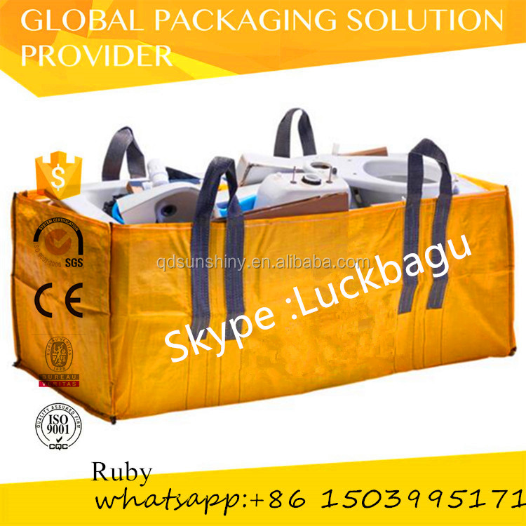 china pp big bags bulk bags /waste collection bags/container bags skip bags