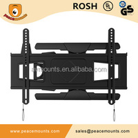 China-made high quality ultra slim folding wire management lcd plasma tv mount for 32 - 60 inches flat panel displays