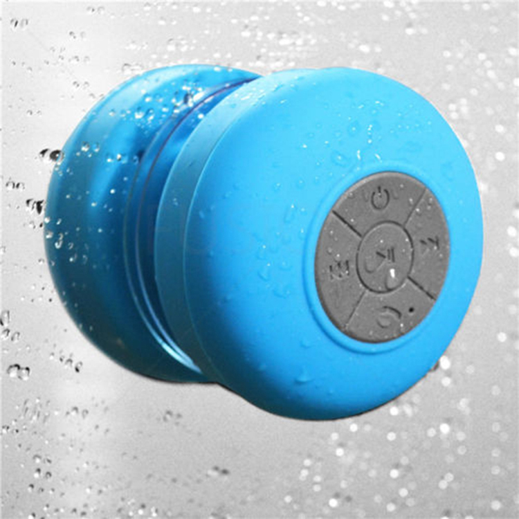 Colorful Portable Mini Mushroom Waterproof Shower Bluetooth Speaker