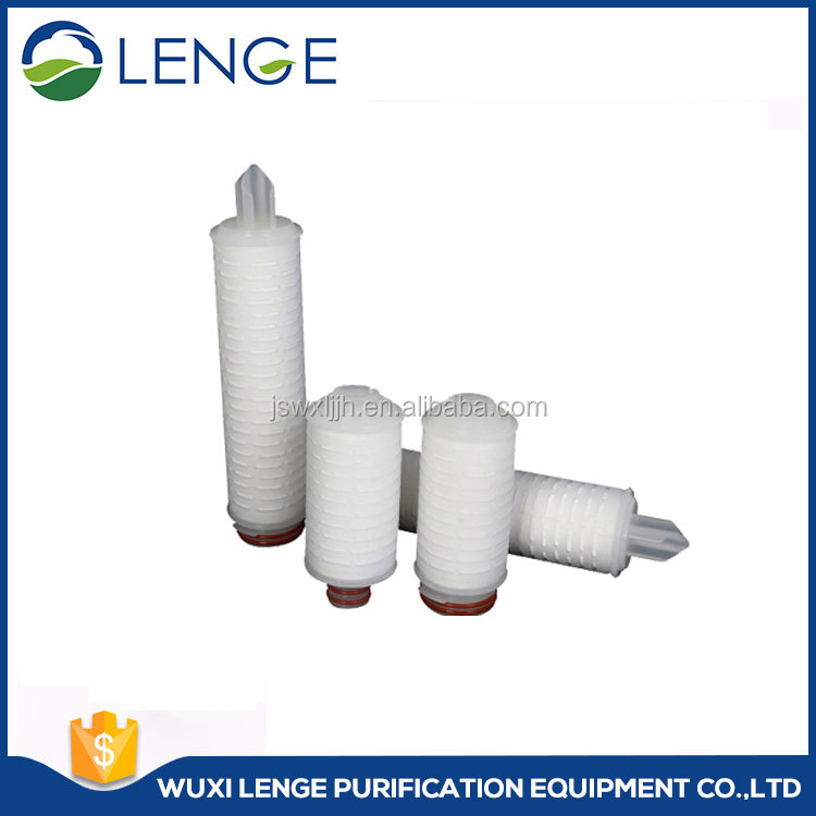 Hydrophobic PTFE Pleated Air Filter Cartridge