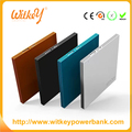 Fashionable power bank card slim power charger portable mobile charger