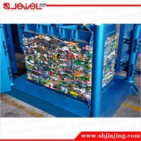 Heavy-duty Vertical Two Rams Hydraulic scrap plastic bottle press machine