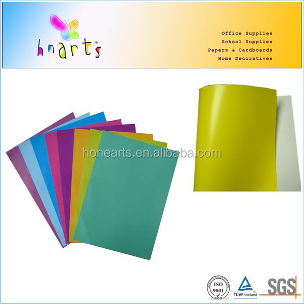 virgin pulp gloss glazed paper sheet