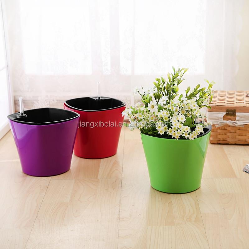 2015 Best Selling Pet Cheap Plastic Flower Pots For Sale