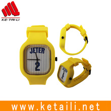New arrival colorful liquid silicone rubber fluororubber quartz wrist watch factory MADE IN CHINA