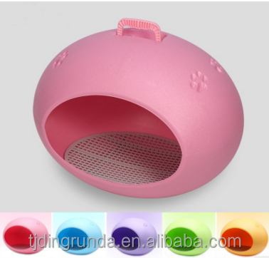 Round type dog house small pet cages