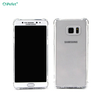 New Air Cushion Clear Shockproof Hard Back TPU Bumper Phone Case For Samsung Galaxy Note 7