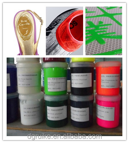 Raw Shoe Material SOLLYD Solvent Free Pigmentable Silicone Screen Printing Ink