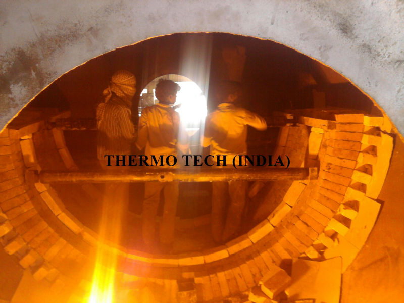 LEAD SMELTING ROTARY FURNACE