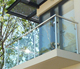 High quality balcony stainless steel glass railing design,terrace railing designs