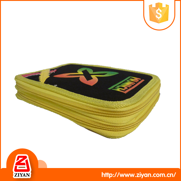 Wholesale new design polyester school pencil case for kids