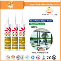one component neutral curing RTV silicone sealant for daylighting roof and kinds of glass showcase