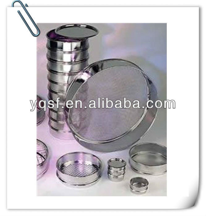 Supply Stainless Steel Standard cement fineness sieve test (Made in China)