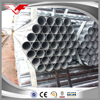 Q195-235 1.5 inch fencing Mild Carbon Welded Galvanized Steel Pipe / Tube Manufacturer for greenhouse