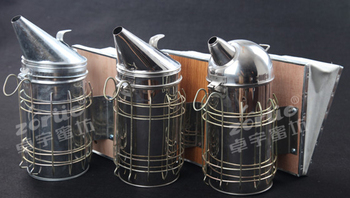 High quality stainless steel bee smoker from manufacturer