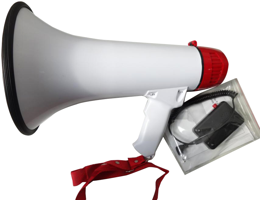 SD-9S oudspeaker ,battery handy megaphone with MP3 USB/SD/AUX input/20s record