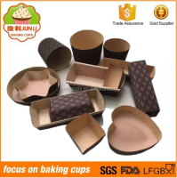 Paper baking cake moulds paper loaf pans Wholesale