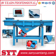 Sand linear vibrating screen/square separator machine