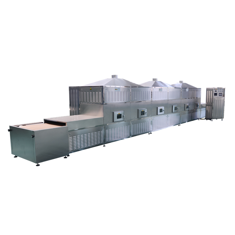 <strong>Industrial</strong> application belt conveyor warm Fast food box lunch microwave sterilization machine