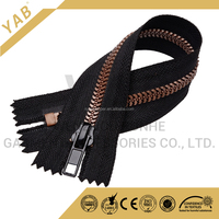 YAB Custom Big Teeth Plastic Zipper For Wardrobe