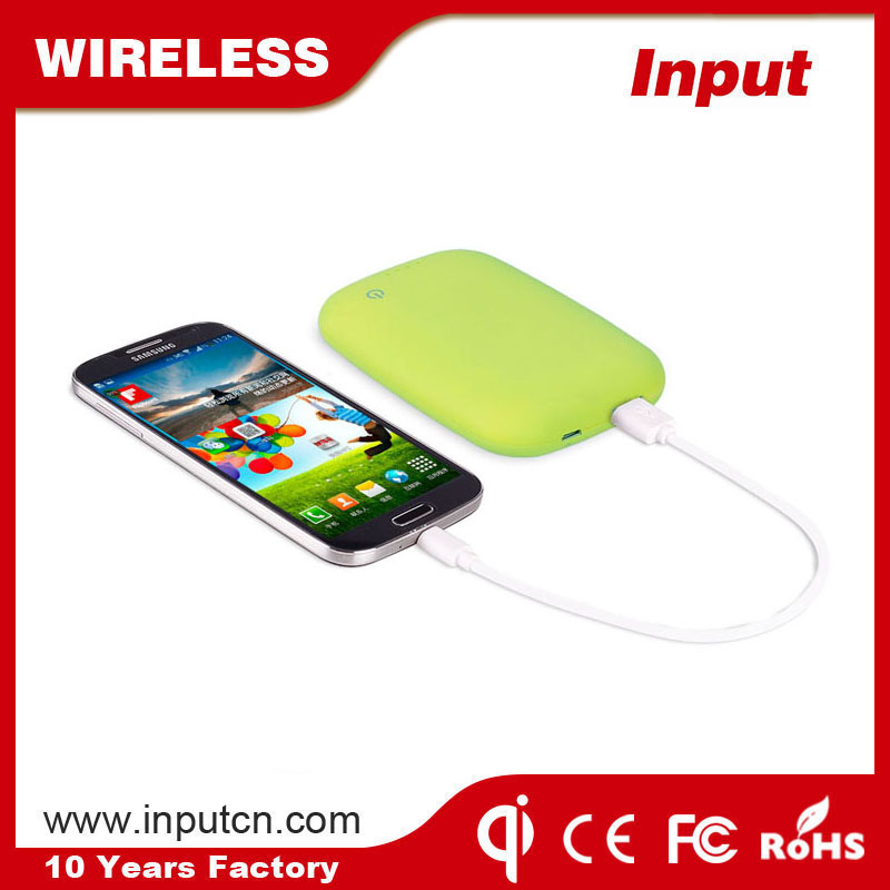 New product for iPhone 6 mobile phones 4000mah wireless power bank
