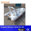 CE 5.8m new entertainment fiberglass hull rigid inflatable boat 580
