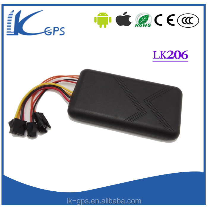LKGPS lk206 10-75V Working Voltage Built-in Antenna gps tracker for motorcycle