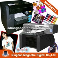 CE approved MDK-A3 8 color high resolution inkjet fabric flatned printer