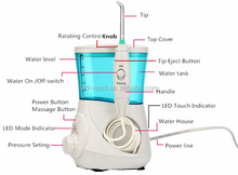 LED Oral irrigator hand-held dental water jet oral hygiene products