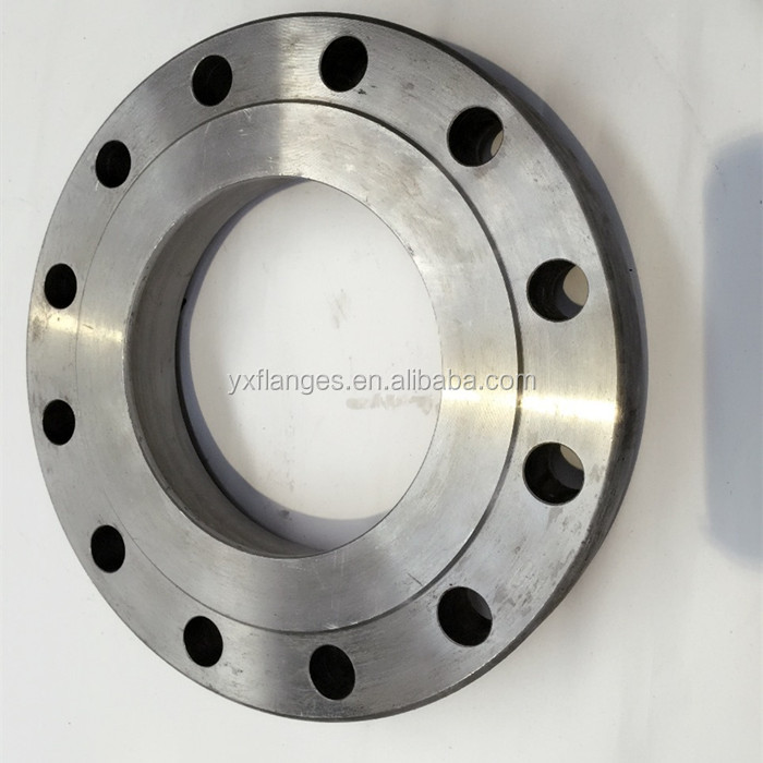 BS4504 forged carbon steel plate flange