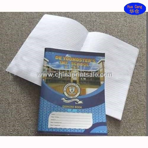 Chinese guangzhou good quality school cheap saddle stitch exercise books