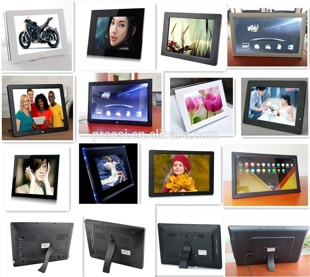 13'' WIFI digital photo frame with android system, lcd advertising display