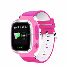 "Baby Smart Watch Good Quality Q90 Anti-lost GPS Watch phone 1.22"" Touch Screen Tracker Watch for child"