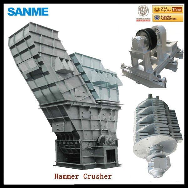 DSJ2020 hydraulic hammer mill crusher