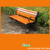 2016 NEW STYLE Park bench,wooden bench,wood bench with iron feet,with low cost