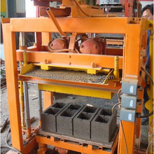 hot sale interlocking cement brock making machine in kenya